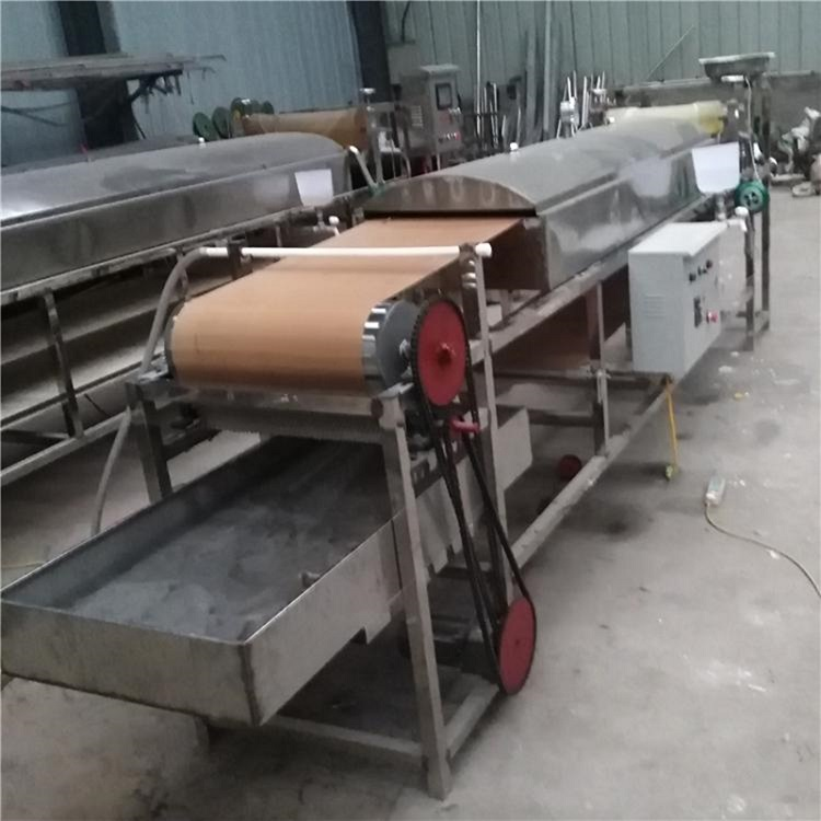 圆形粉皮机厂家 仿手工粉皮机多少钱 圆形蒸汽粉皮机-郑州中久