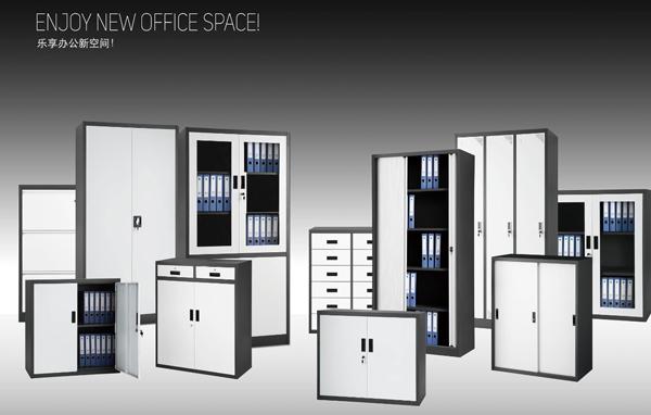 钢木办公桌|选购文件柜鹤力办公家具