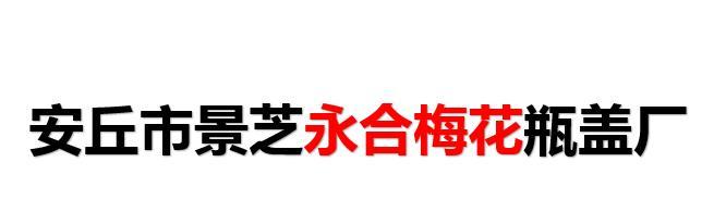 安丘市景芝永合梅花瓶盖厂