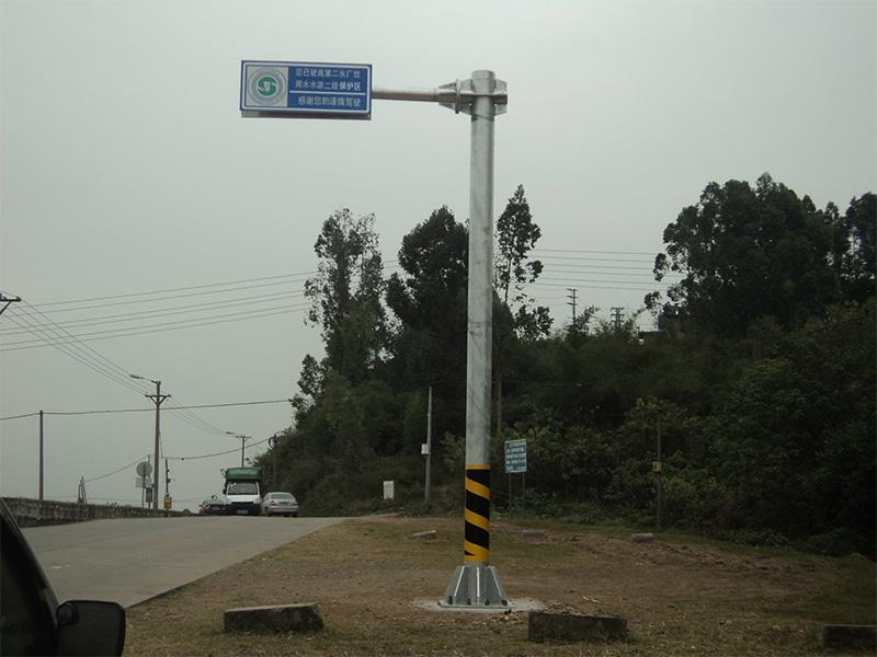 甘肃道路标志杆价格|供应河南新世纪交通实用的标志杆
