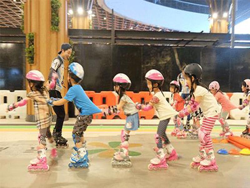 陕西轮滑培训班-渭南市儿童轮滑俱乐部