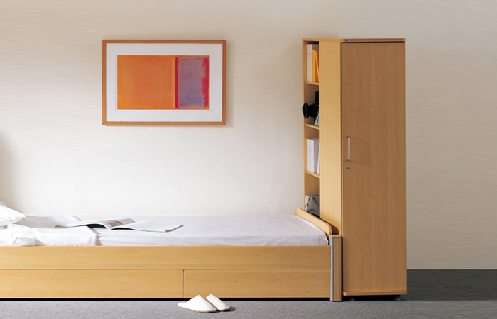 上海公寓床-拆装柜-钢柜