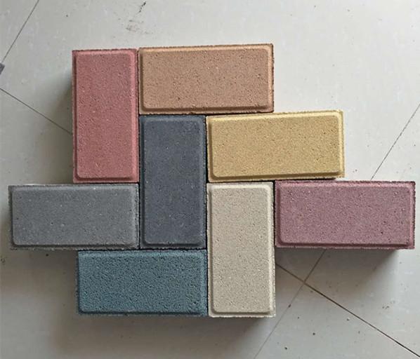 陶瓷透水砖价格 河南彩色透水砖厂家