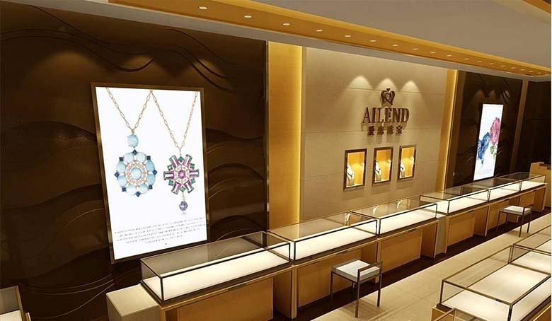 江西黄金 展柜―― 耀东气势爆发而出珠宝展柜定制13970968121