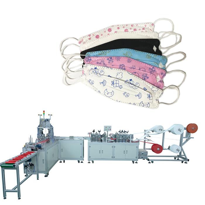 招商入驻收购一次性平面全自动一拖一/一拖二口罩机