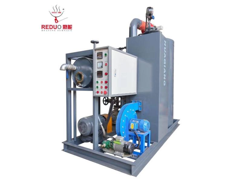 節能微型燃氣導熱油模溫機