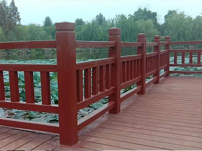 武威市景区仿木栏杆批发,混凝土仿木栏杆安装