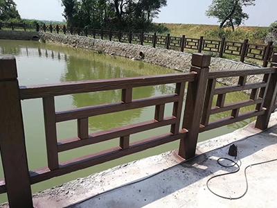 仿木欄桿-廠家推薦仿木護欄廠家-價格合理的仿木護欄廠家