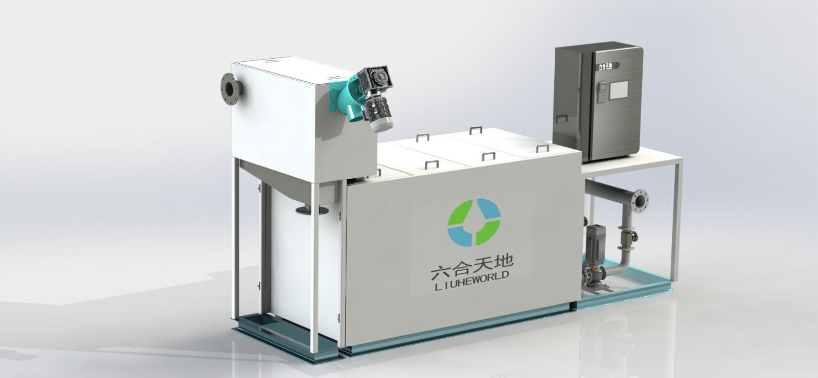 污水处理设备厂家-武汉六合天地环保设备物超所值的餐厨垃圾研磨除渣油水分离一体机出售