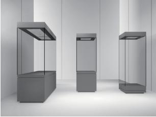 玻璃橱窗展示柜厂-玻璃展柜靠谱供应商