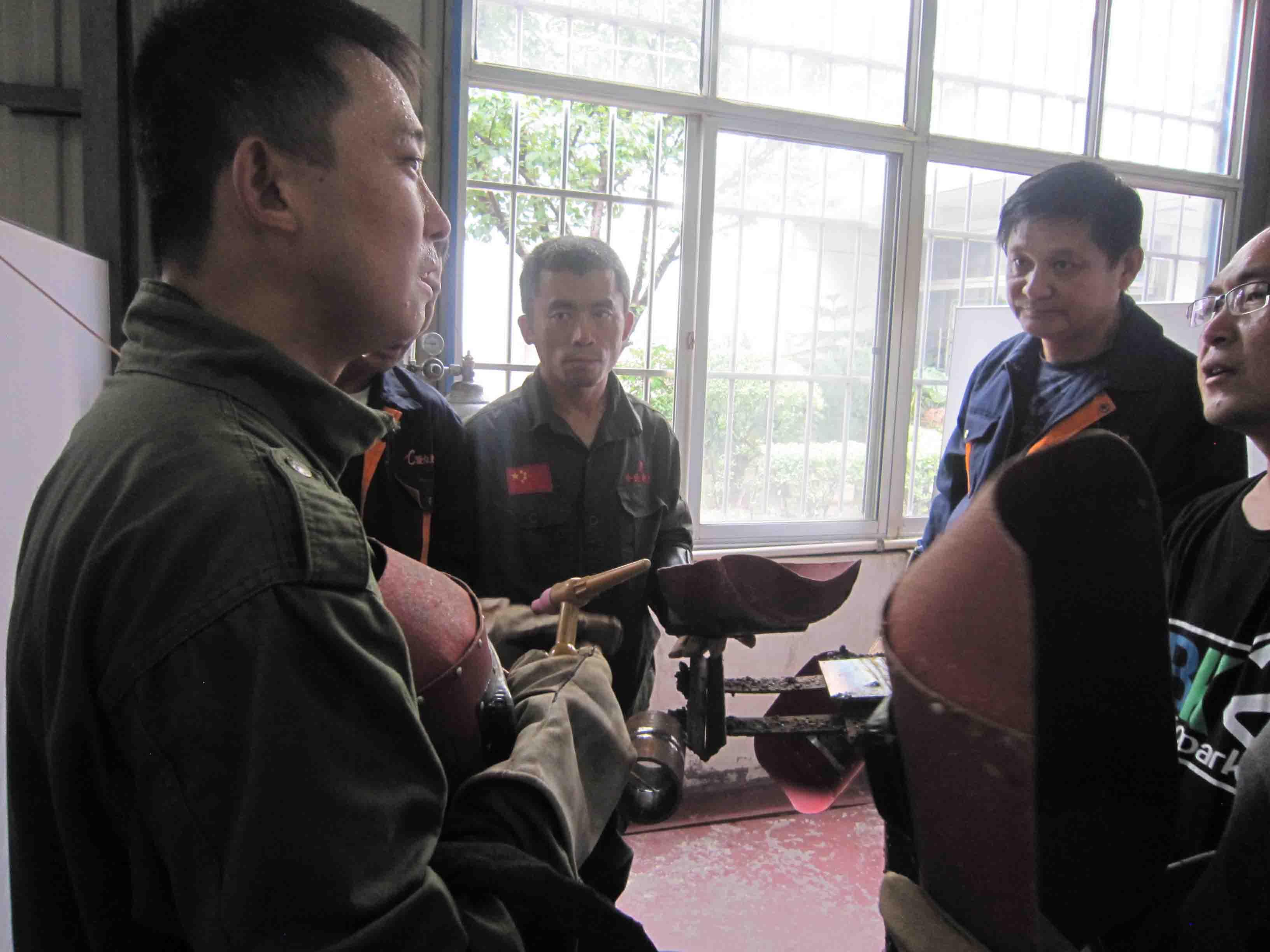 济南中级焊工培训-初级焊工培训课程还是超英电气焊职业培训好
