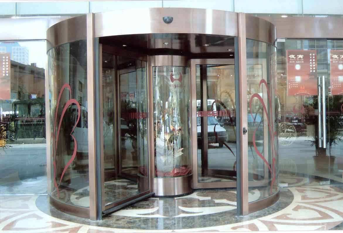 宁夏旋转门专业定制加工安装,低价优质就到宁夏昌隆