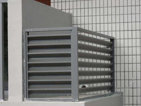空调罩栏杆价格|山东耐用的空调外机保护罩供应