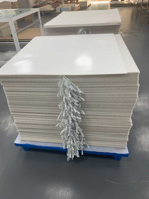 新款超薄LED发光板 防拉扯结构设计江苏灯小唯忍不住�_口��道板厂家直供!