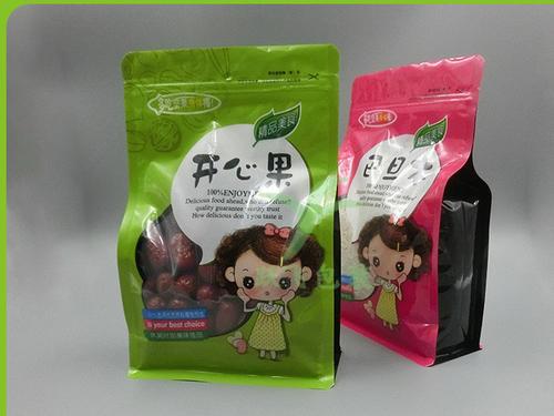 食品包装袋-透明抽空杂粮袋加工-透明抽空杂粮袋定制