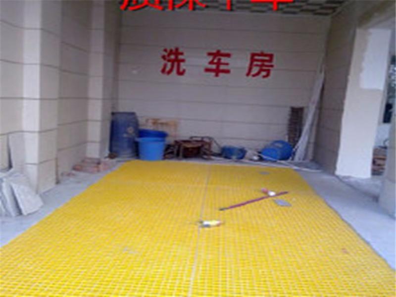 恒澤直銷洗車房玻璃鋼格柵污水蓋板棗強玻璃鋼格柵廠家供應