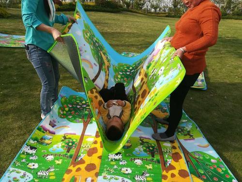 婴儿爬爬垫厂-选购实惠的爬爬垫,就来宁夏千夏雪猛万千工贸