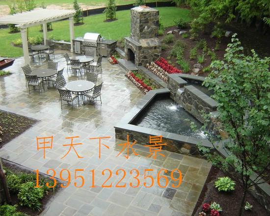 常州市锦鲤鱼池过滤池设计!解决鱼池水质问题