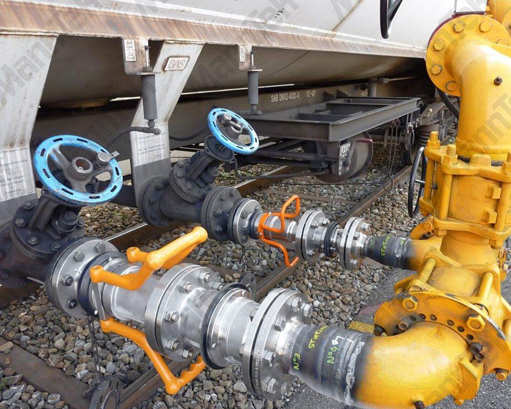 液化氣專用自密封充裝閥瑞典曼太柯MannTek液化氣液化氣閥
