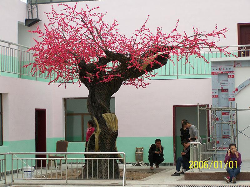 陇南仿真树价格-具有口碑的甘肃仿真树设计出自绿洲