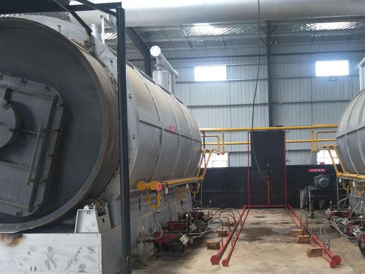 废橡胶热裂解设备厂-想买好用的新型全自动半连续化环保废橡胶裂解设备-就来钟鸣环保设备