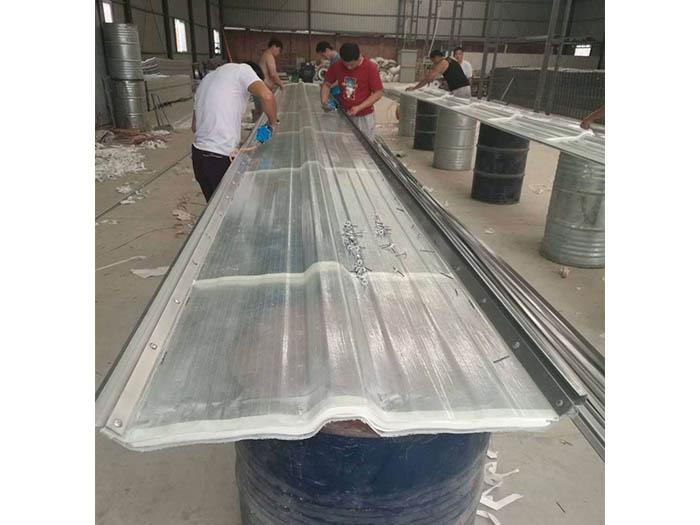 延安钢边采光瓦厂家-钢边采光瓦批发-钢边采光板价格
