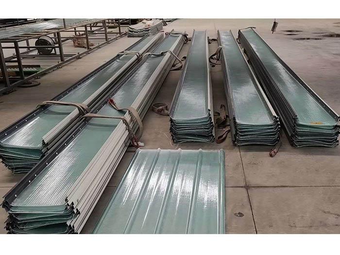 石嘴山钢边采光瓦价格-延安钢边采光板-延安钢边采光板价格