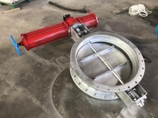 烟气电动调节阀-磨煤机隔绝门-煤仓闸板门