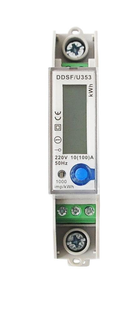 浙江电能表口碑好-买质量硬的单相单节LCD带RS485带费率电表-就选永泰隆电子