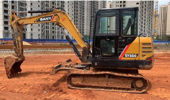 文昌微型挖機出租代理商_想找劃算的海南微型挖機租賃,就來海南恒晟機械