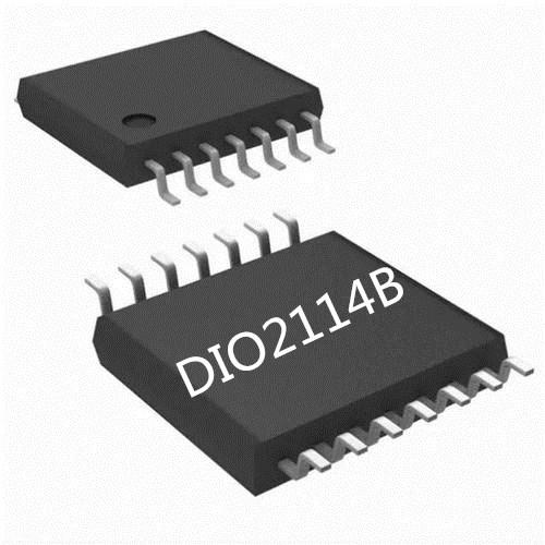 DIO2114B批发3.3V电源下提供2Vrms输出性能佳