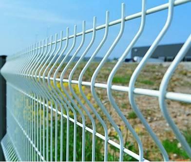折弯网片折弯护栏三角折弯护栏网安装移动式护栏
