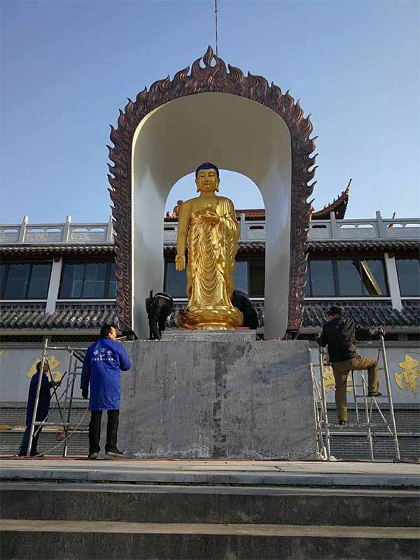 大型铜雕佛像佛教寺院铜金佛像阿弥陀佛像