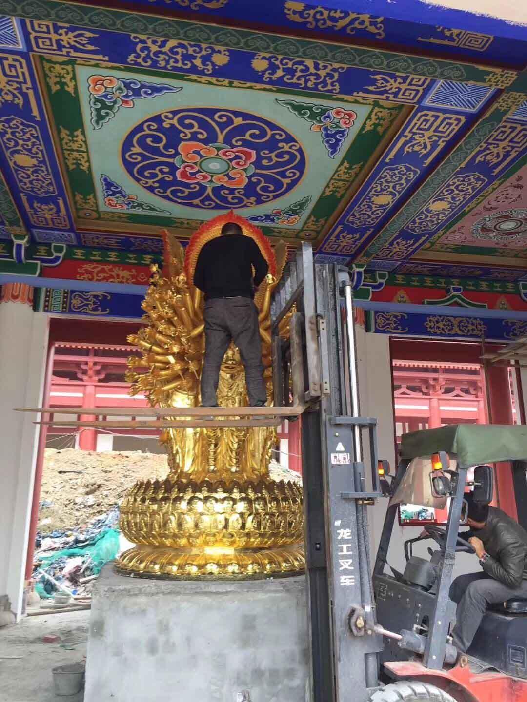 浙江特色的寺庙铜佛像供应_铸铜阿弥陀佛