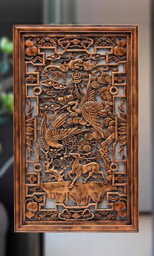 买可信赖的哈尔滨中式铜雕,就到哈尔滨万超园林_四平仿真景观