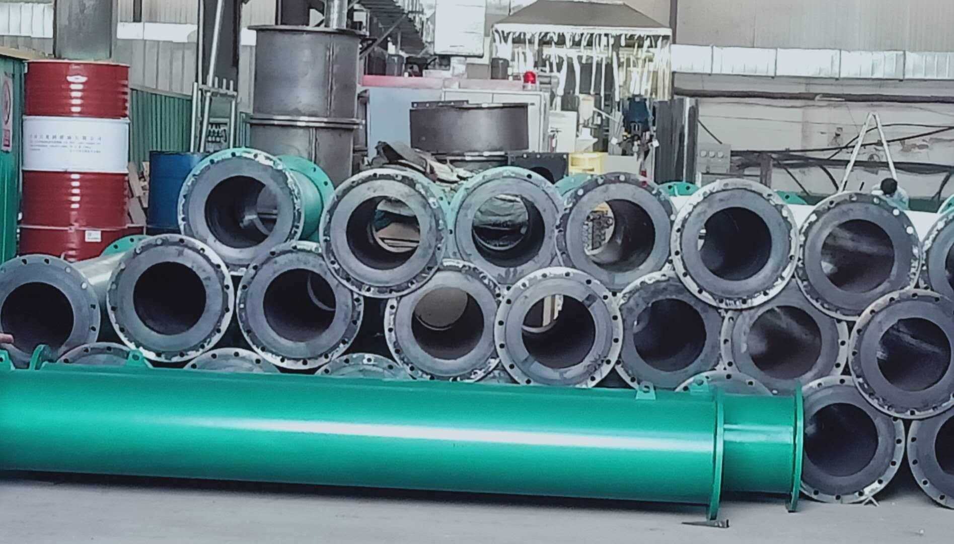 黔西南钢衬橡胶复合管道-环保的钢衬橡胶管子-爆销钢衬橡胶管子