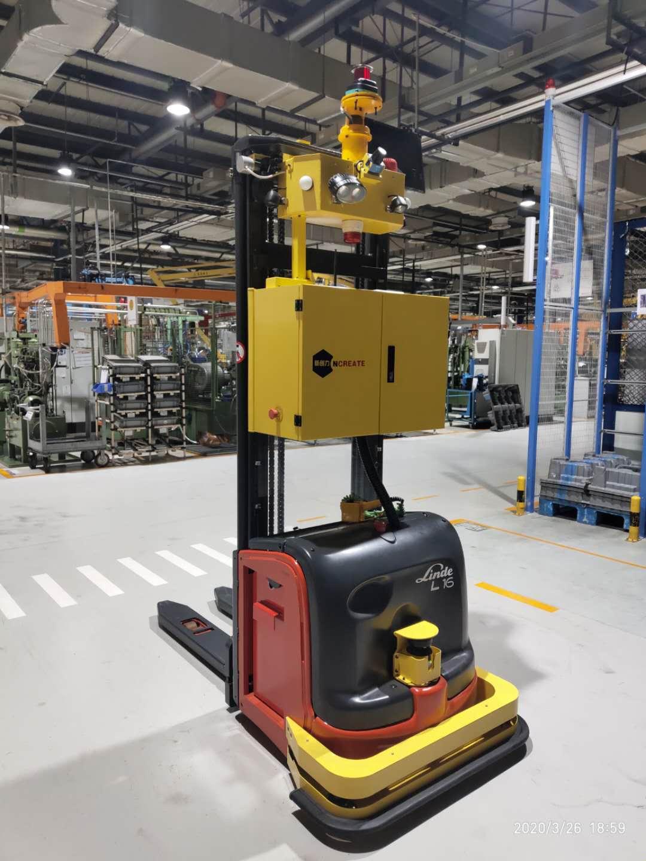 AGV自動化運輸系統