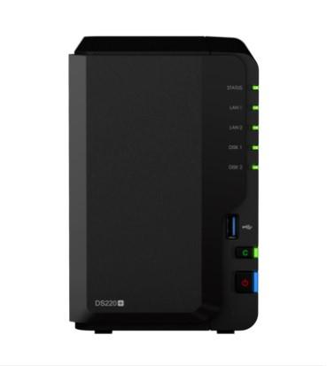 ¥群晖NAS数据存储服务器DS220+ 2盘位 山东代理