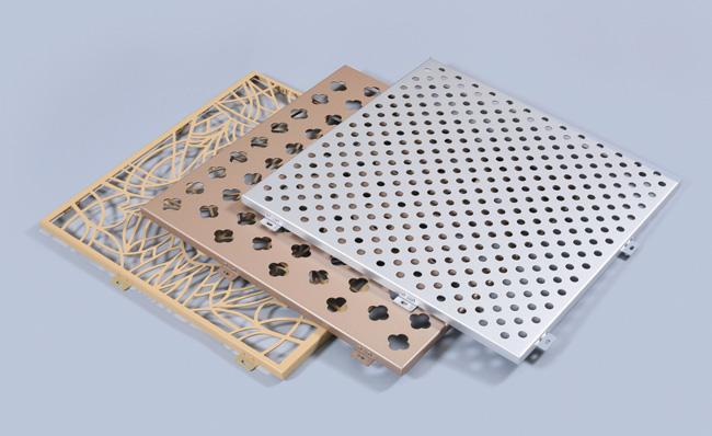 河南沖孔雕花鋁單板廠家 鄭州仿木紋鋁單板