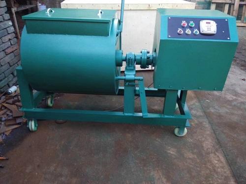 混凝土单卧轴搅拌机-滨州HJW-60型单卧轴砼搅拌机