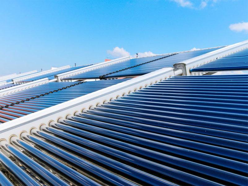 太阳能热水工程-神木15吨太阳能热水系统