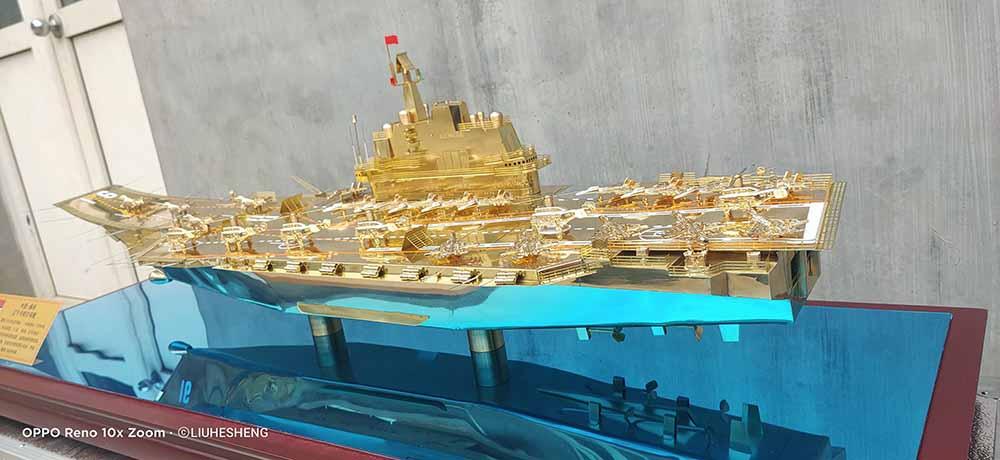 航母军舰模型供应商手工工艺品生产销售厂家金航帆商贸