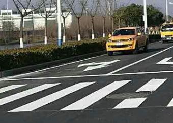 道路划线-道路标线规范-城市道路标志标线