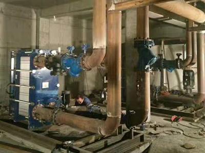 兰州换热机组哪家好-好用的甘肃板式换热机组甘肃四和环保供应