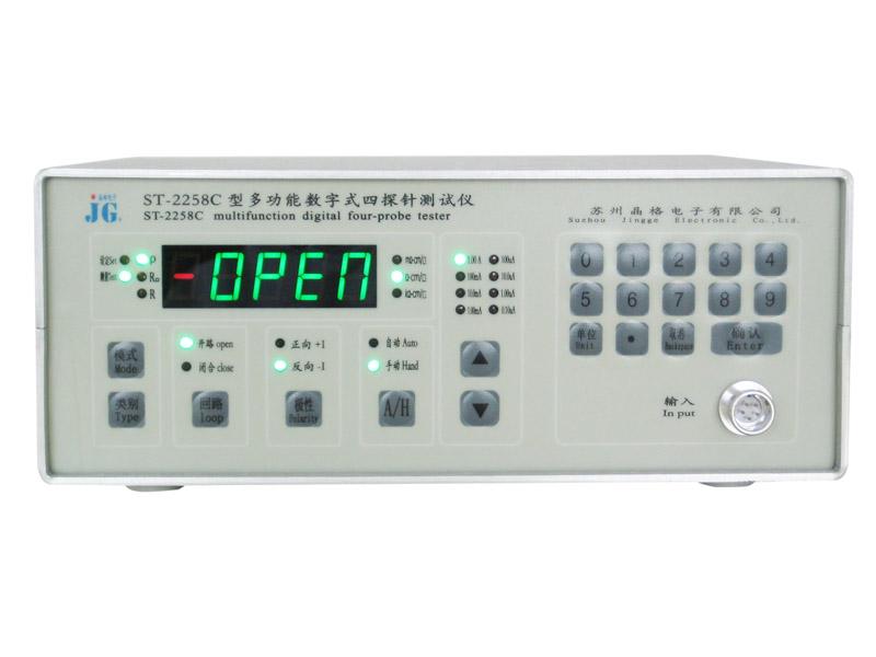 报价合理的四探针电阻率测试仪-购买好用的ST2258C多功能四探针电阻率测试仪苏州晶格电子