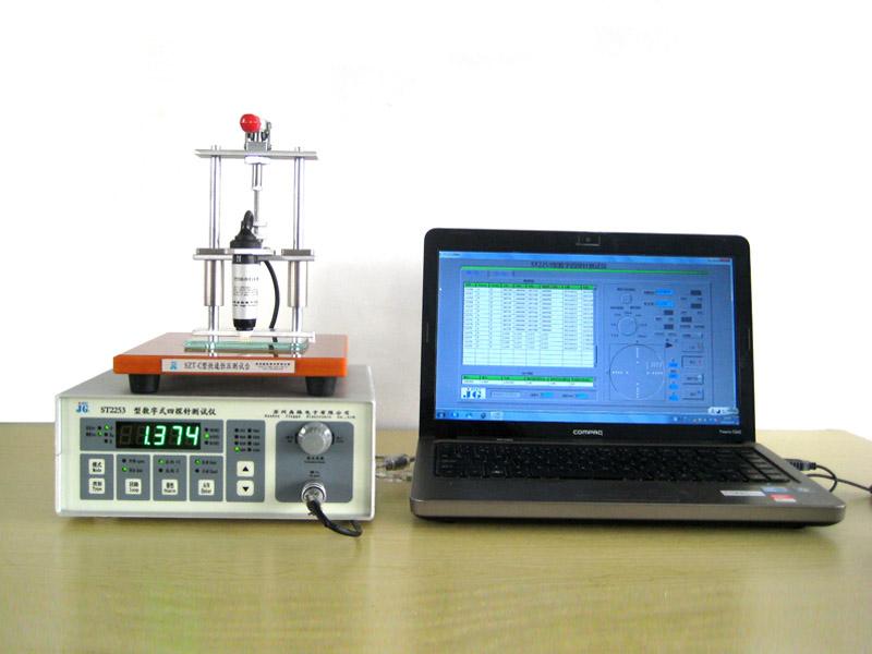 厂家直销的ST2253数字式四探针电阻率测试仪-怎样才能买到物超所值的ST2253带电脑软件四探针电阻率测试仪