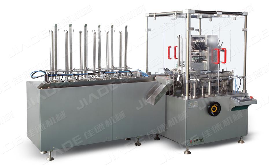 医疗器械包装生产线-物超所值的JDZ-120D全自动立式装盒机供销