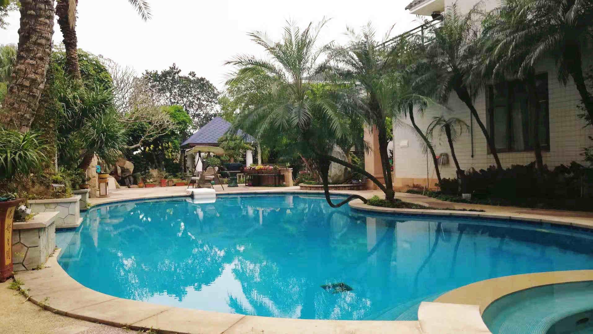 屋顶花园花台设计-德承园林景观设计-的泳池设计公司