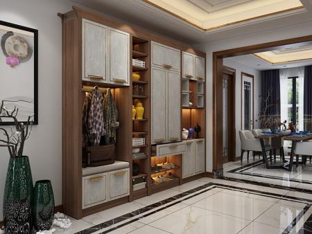 烟台实木橱柜-烟台实木全屋定制工厂-烟台整体衣柜