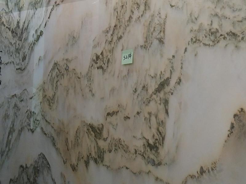 山水画背景墙壁瓷砖-广东实惠的大理石石材幕墙批销